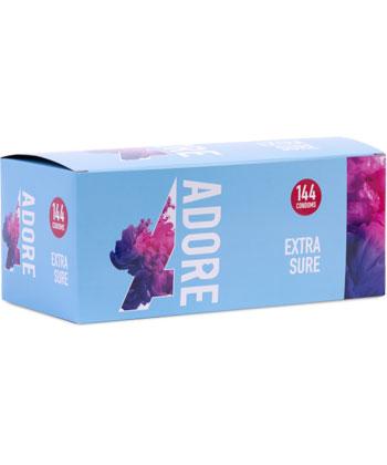 Adore Condoms Extra Sure