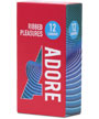 Adore Condoms Ribbed Pleasure