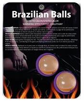 Secret Play Brazilian Balls Effet Chauffant
