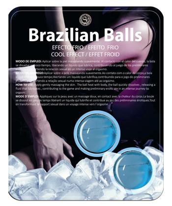 Secret Play Brazilian Balls Effet froid
