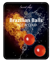 Secret Play Brazilian Balls Effet chaud froid