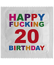 Callvin Happy Fucking 20 Birthday