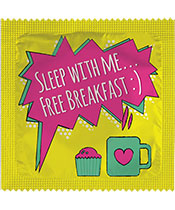 Callvin Sleep with me... Free breakfast