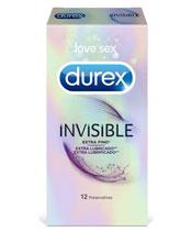Durex Oculto lubricado extra