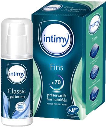 Intimy Fins + Gel Lubrifiant Intime