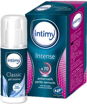 Intimy Intense + Gel Lubrifiant Intime