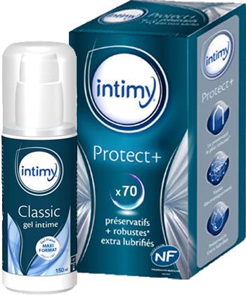 Intimy Protect + Gel Lubrifiant Intime