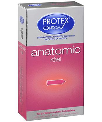 Protex anatómica real