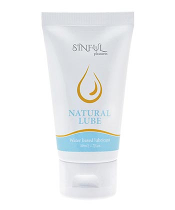 Sinful Lube Natural
