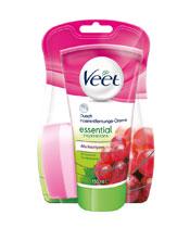 Veet depilación crema inspiraciones Esenciales